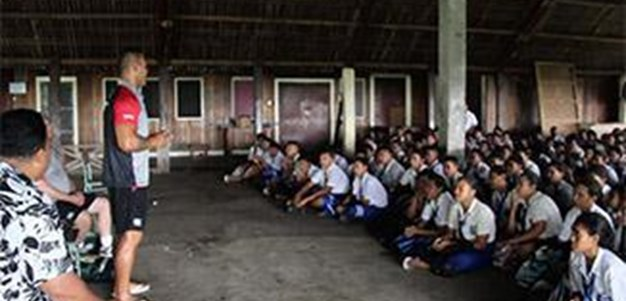 Vodafone Warriors in Samoa - Day 2 High Schools
