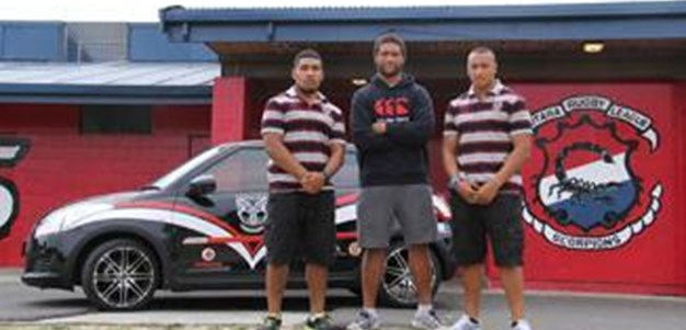 2013 Vodafone Warriors Season Launch Carnival