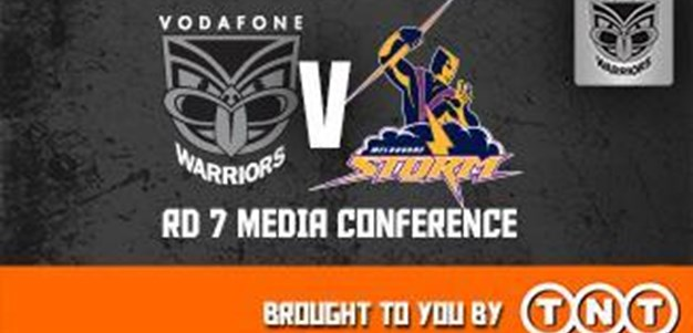 Vodafone Warriors Rd7 (Media Conference)