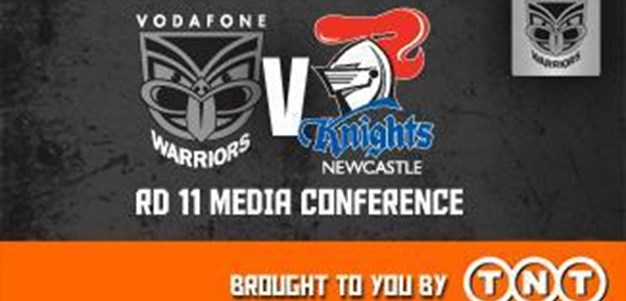 Vodafone Warriors Rd11 (Media Conference)