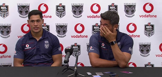 [Post match] 'A real tough grinding win'