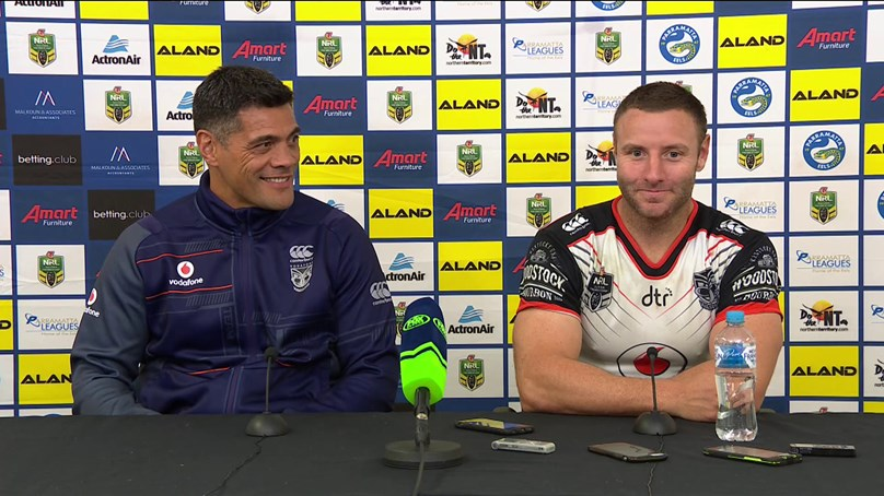 Warriors press conference - Round 11