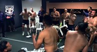 Victory song after the win at Suncorp