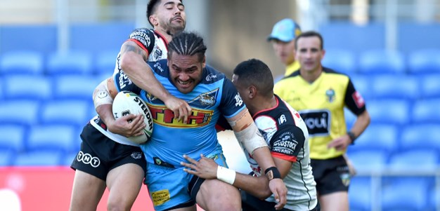 Titans unleash with dominant second half showing