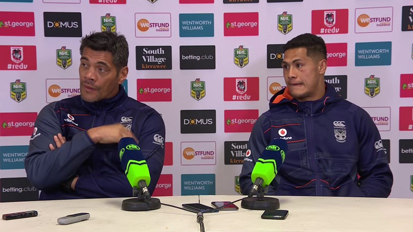 Warriors press conference - Round 21