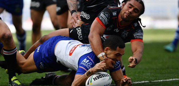 Edged out by Bulldogs in Sydney