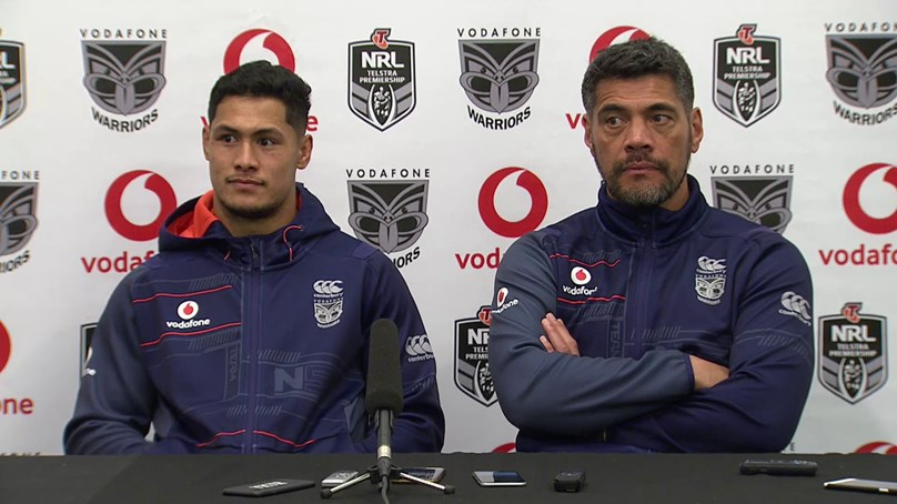 Warriors press conference - Round 24