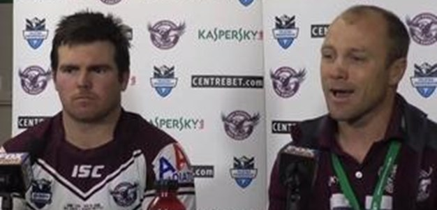 Manly Sea Eagles Rd21 Press Conference