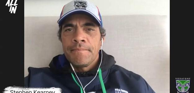 Coach Chat: Stephen Kearney