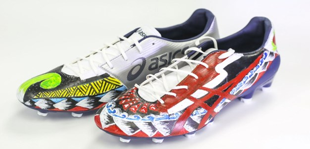 Cultural football boots support cause