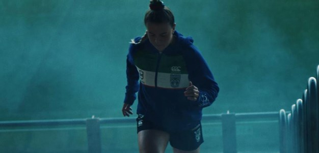 Hale centre stage in 2020 NRLW promo
