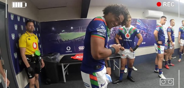 Behind the scenes look at Blair's NRL finale