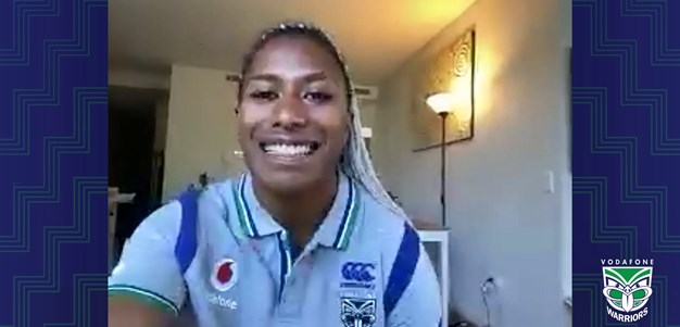 Green lapping up NRLW experience
