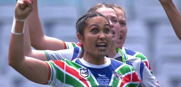 Warriors confront Dragons with powerful haka