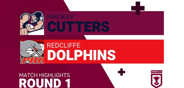 Highlights: Tries from Redcliffe's win over Mackay