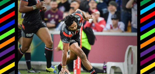 Magic Moments: Hiku's double in win over Dragons