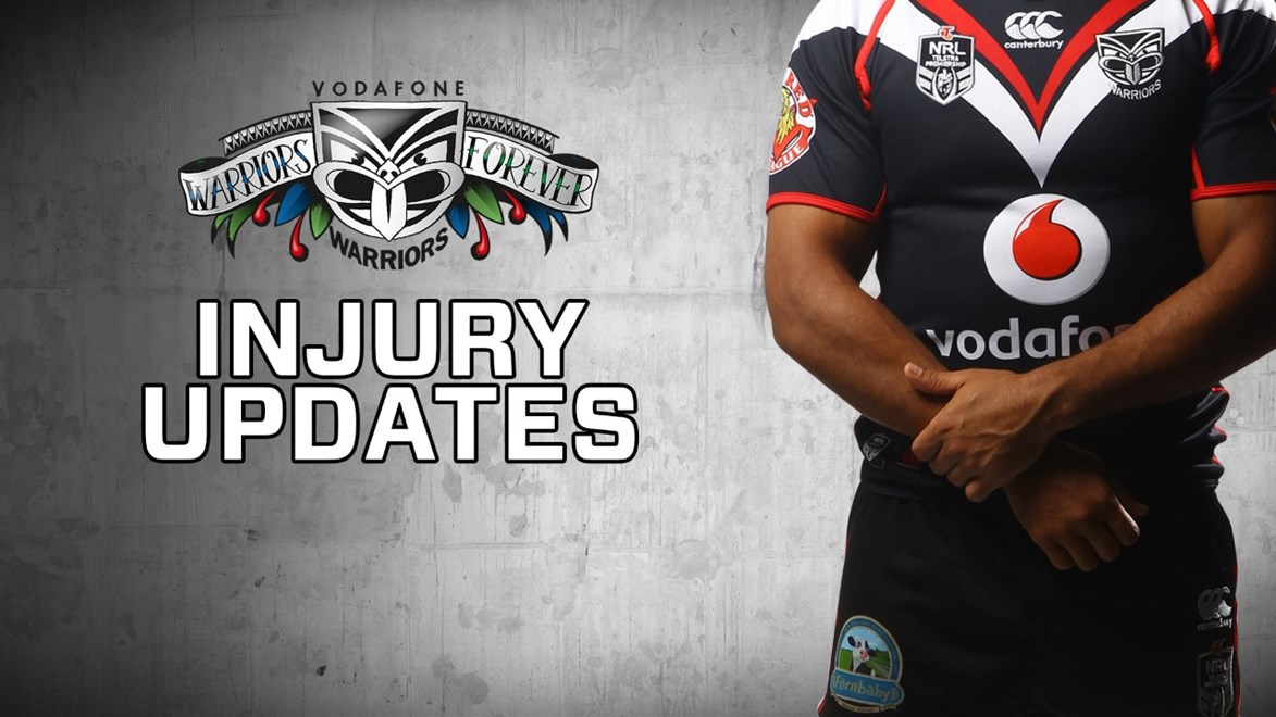 Vodafone Warriors Injury Update