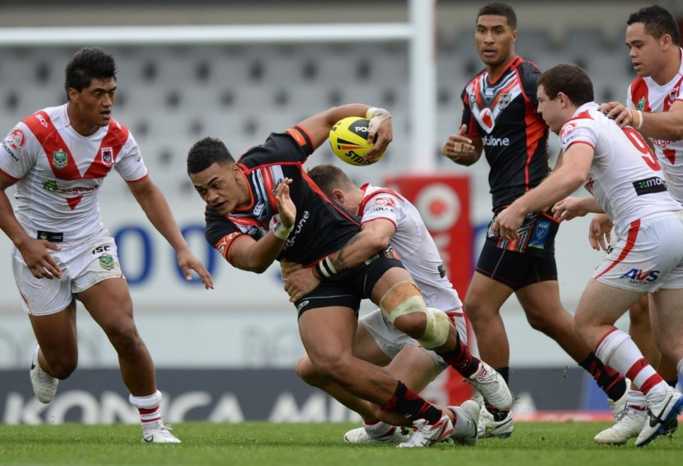Ken Maumalo has been moved back into the centres for the Vodafone Junior Warriors' NYC clash against Parramatta today. Image | www.photosport.co.nz