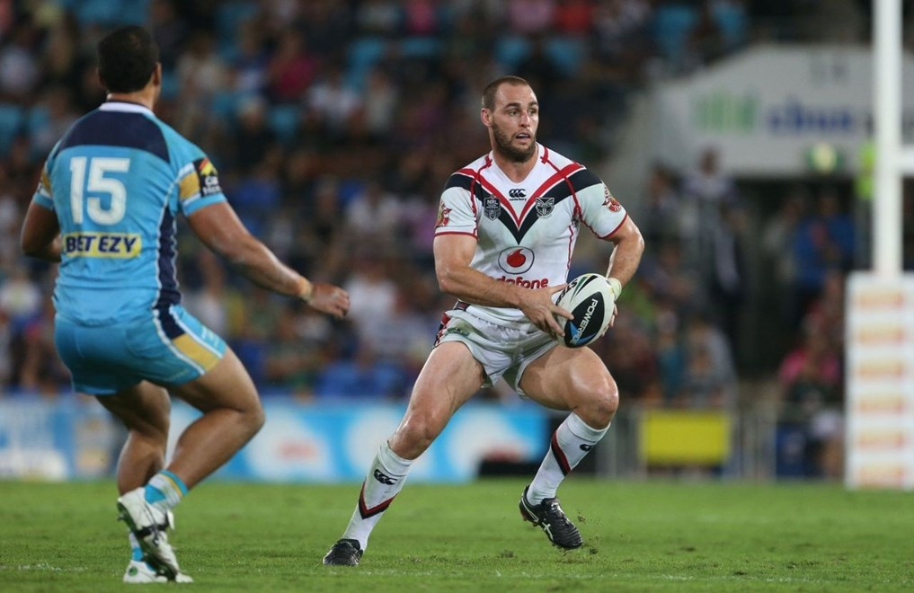 Vodafone Warriors back rower Simon Mannering in his 199th NRL appearance and his 99th as captain last Saturday. Image | www.photosport.co.nz