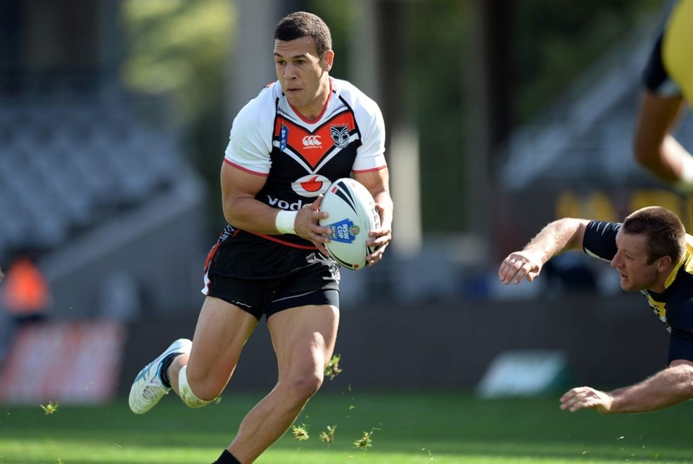 Carlos Tuimavave's first half double helped the Vodafone Warriors to  a 36-28 win over the Mounties in today's New South Wales Cup elimination  final at Leichhardt Oval.. Image | www.photosport.co.nz