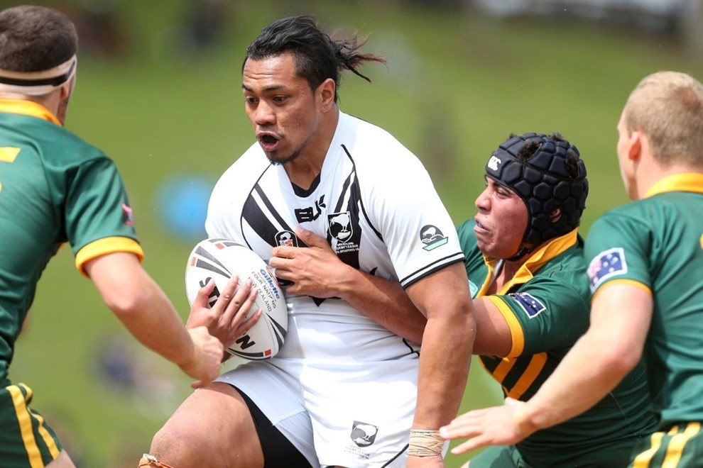 Paul Tuli in action for the New Zealand Residents 18s against the Australian Schoolboys last year. Image | www.photosport.co.nz