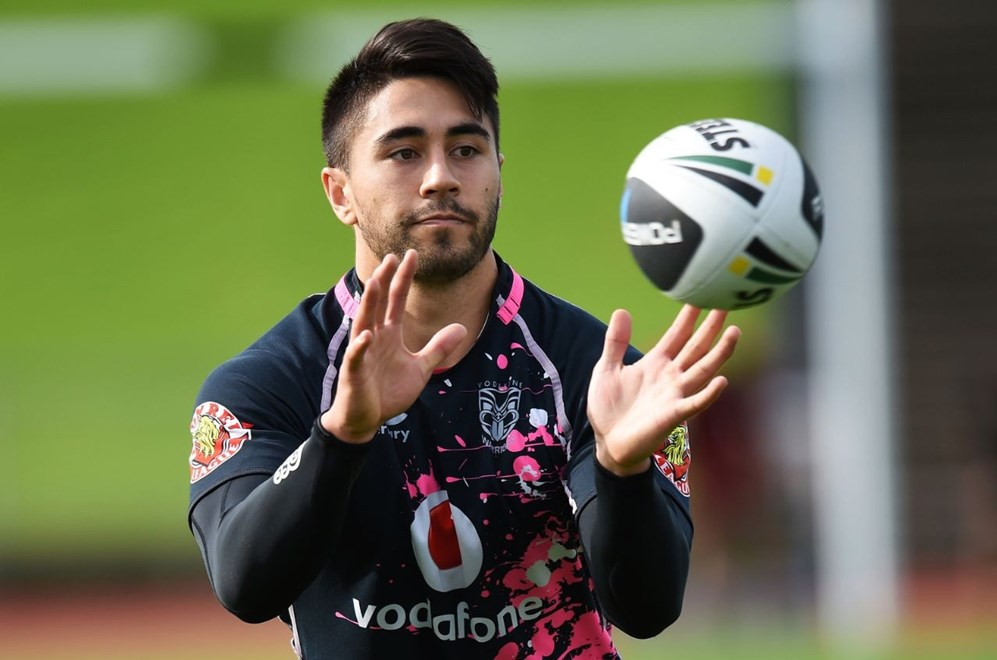 Shaun Johnson will miss two matches on end for the first time in his NRL career after being ruled out of the Canberra clash. Image | www.photosport.co.nz