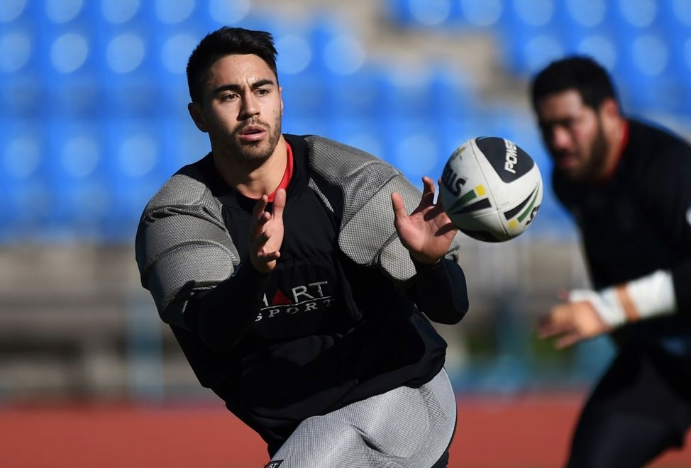 Shaun Johnson is rated a good chance of being available for the Vodafone Warriors against Cronulla next Sunday (August 10). Image | www.photosport.co.nz