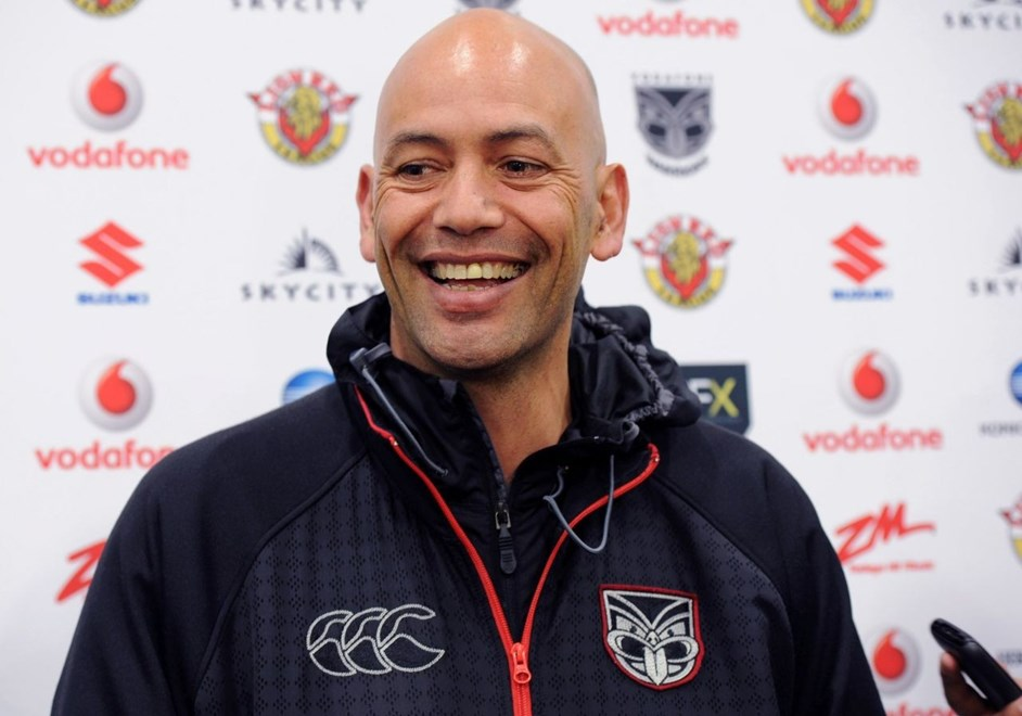 Tony Iro is heading back to the Vodafone Warriors for a second term as an NRL assistant coach after lasting holding the job from 2010-2012.  Image | www.photosport.co.nz