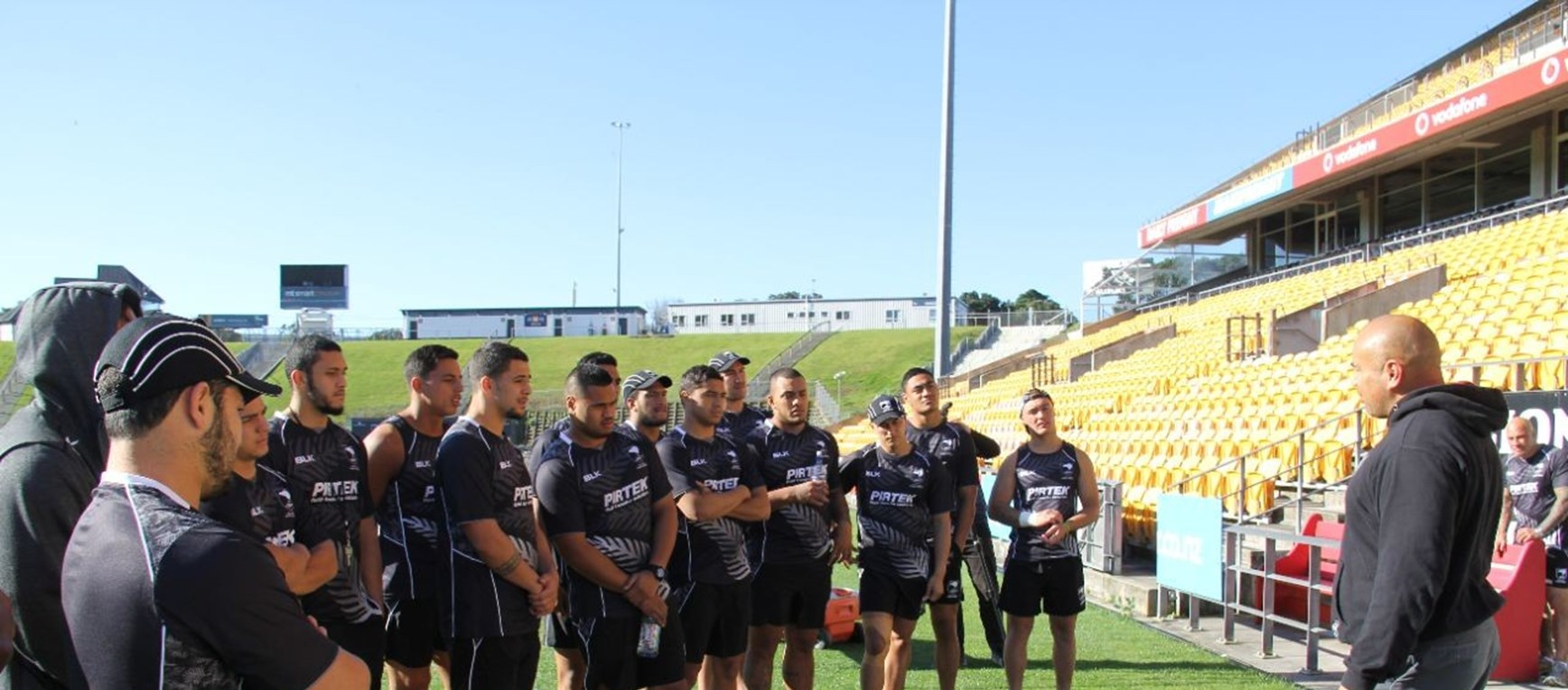 In Pictures | Junior Kiwis training