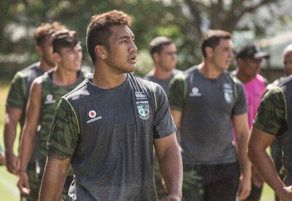 Albert Vete has been rewarded with a fulltime NRL contract for impressive efforts in the offseason and in preseason trials . Image | www.warriors.kiwi