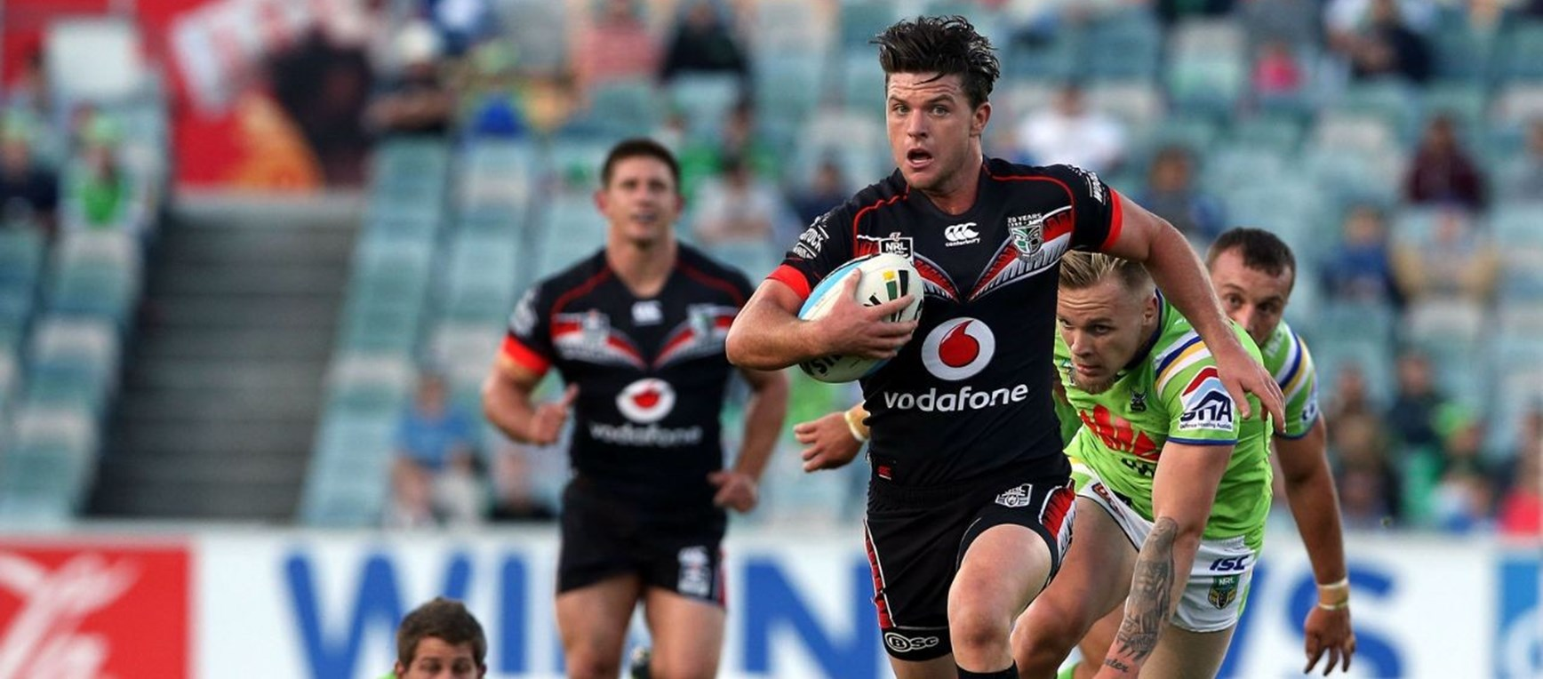 IN PICTURES | Vodafone Warriors v Raiders