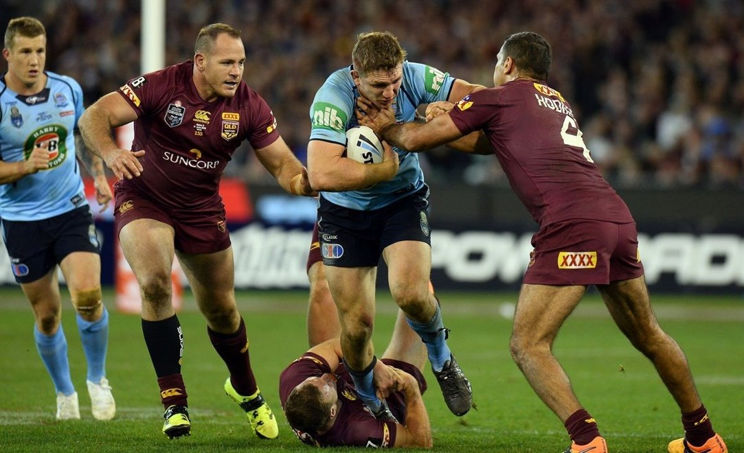 Ryan Hoffman (NSW) State of Origin / NSW vs QLD Game 2 NRL - 2015 National Rugby League MCG Melbourne Victoria Wednesday 17 June 2015 © Sport the library / Jeff Crow