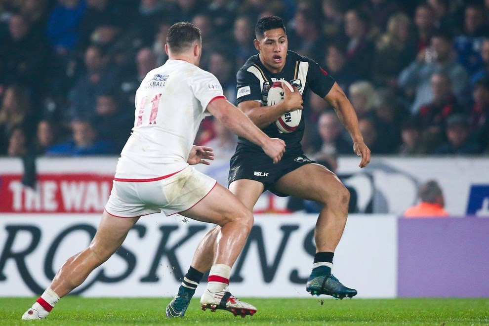 01/11/2015 - Rugby League - England v New Zealand, 1st Test - KC Stadium, Hull, England - New Zealand's Roger Tuivasa-Sheck. Copyright photo: Alex Whitehead / www.photosport.nz