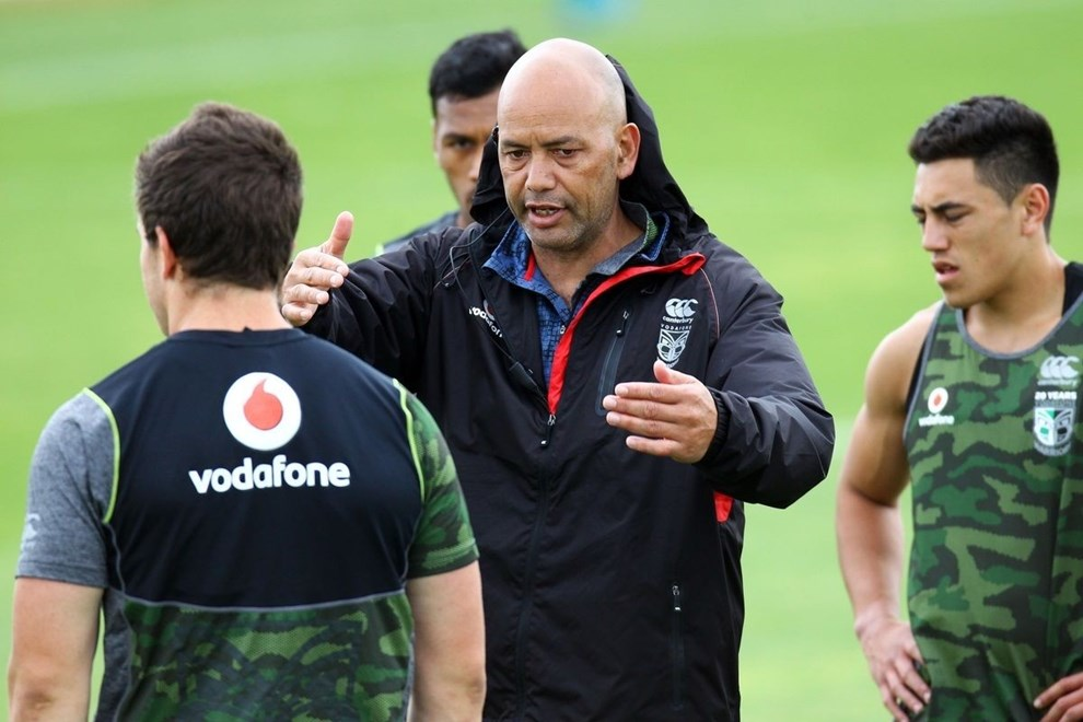 Vodafone Warriors recruitment and development manager Tony Iro is Christchurch-bound for a development camp this week. Image | www.photosport.nz