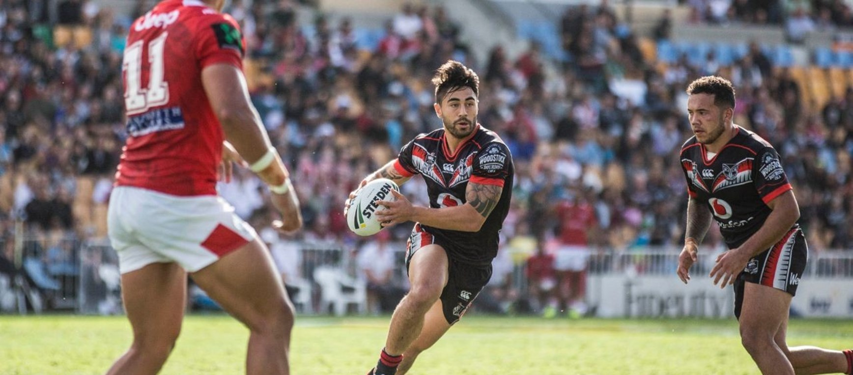 Round nine v Dragons in pictures