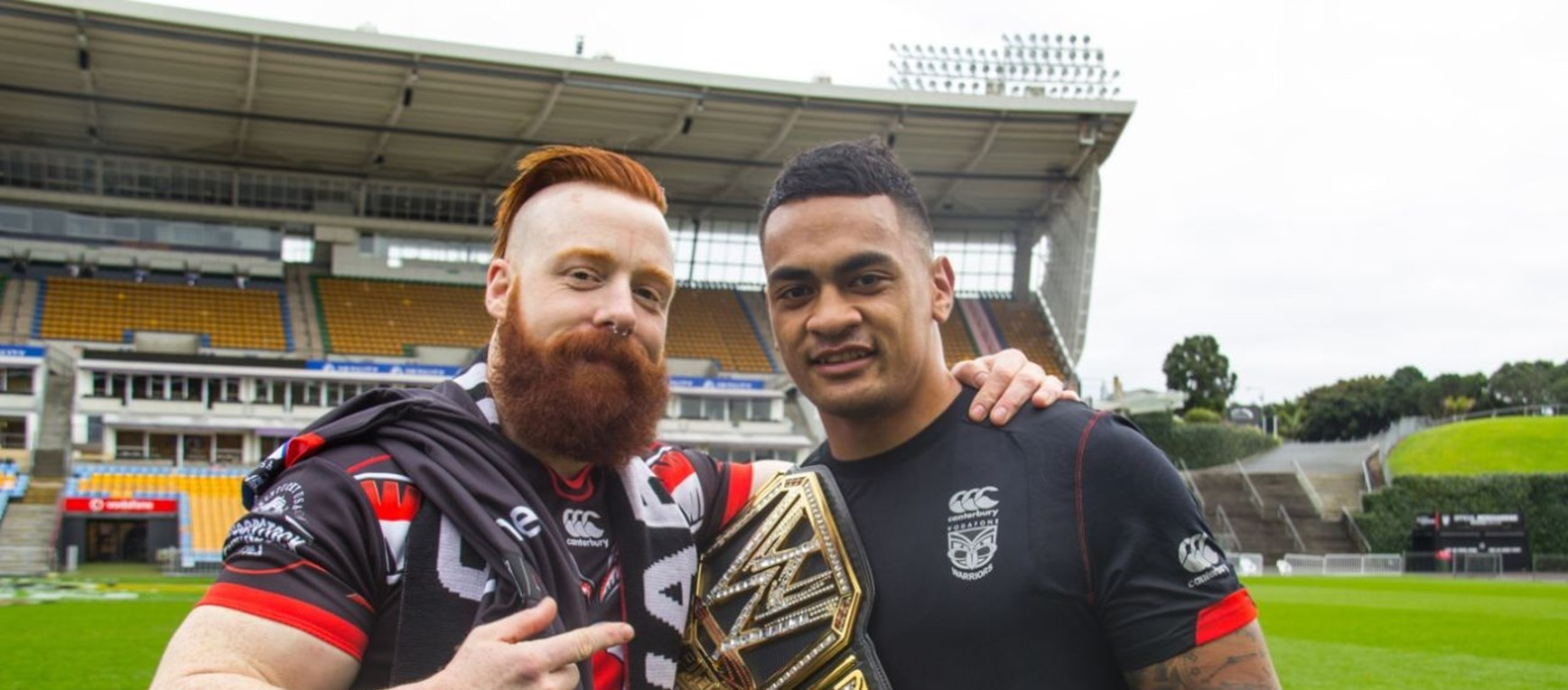 Sheamus visit in pictures