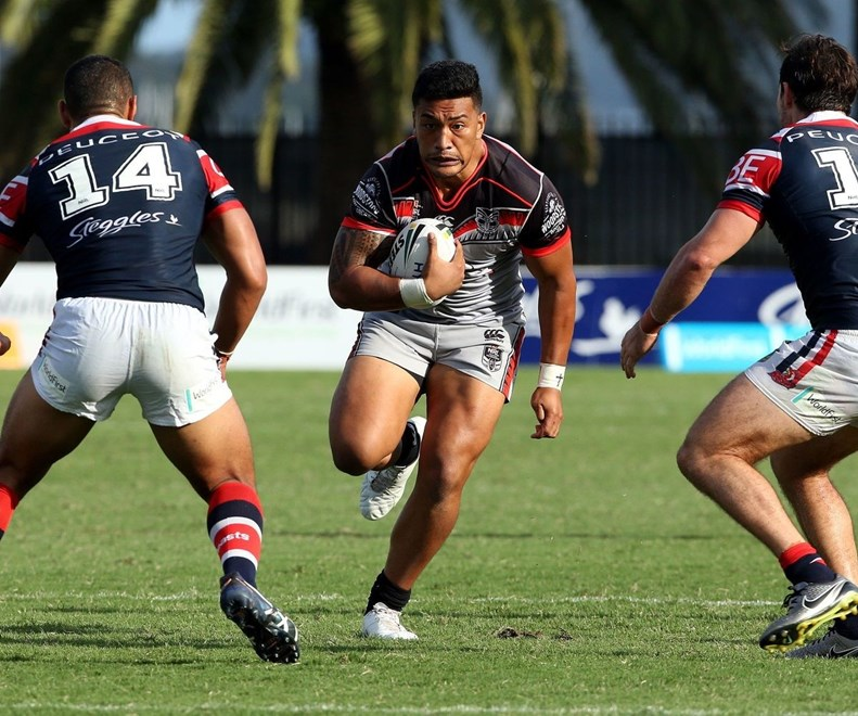 Albert Vete comes into the starting line-up for today's clash against Brisbane. Image | www.photosport.nz