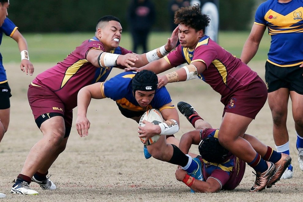 St Pauls College v Otahuhu, Day two of the National Secondary Schools Rugby League Tournament at Bruce Pulman Park, Auckland, 30 August 2016. Copyright Photo: William Booth / www.photosport.nz