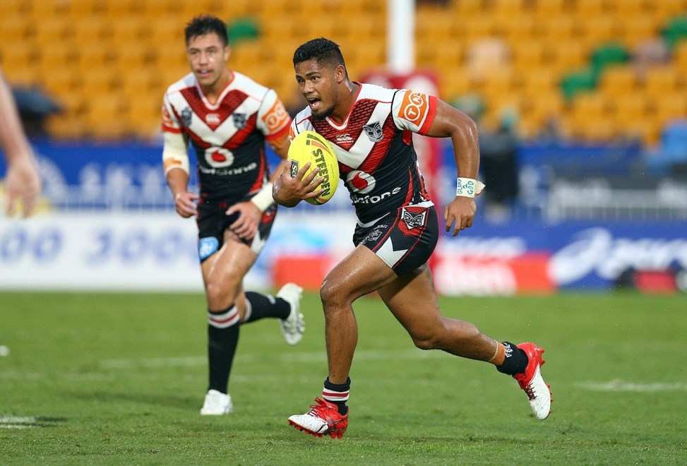 Matt Faitotoa. Junior Warriors v Junior Storm