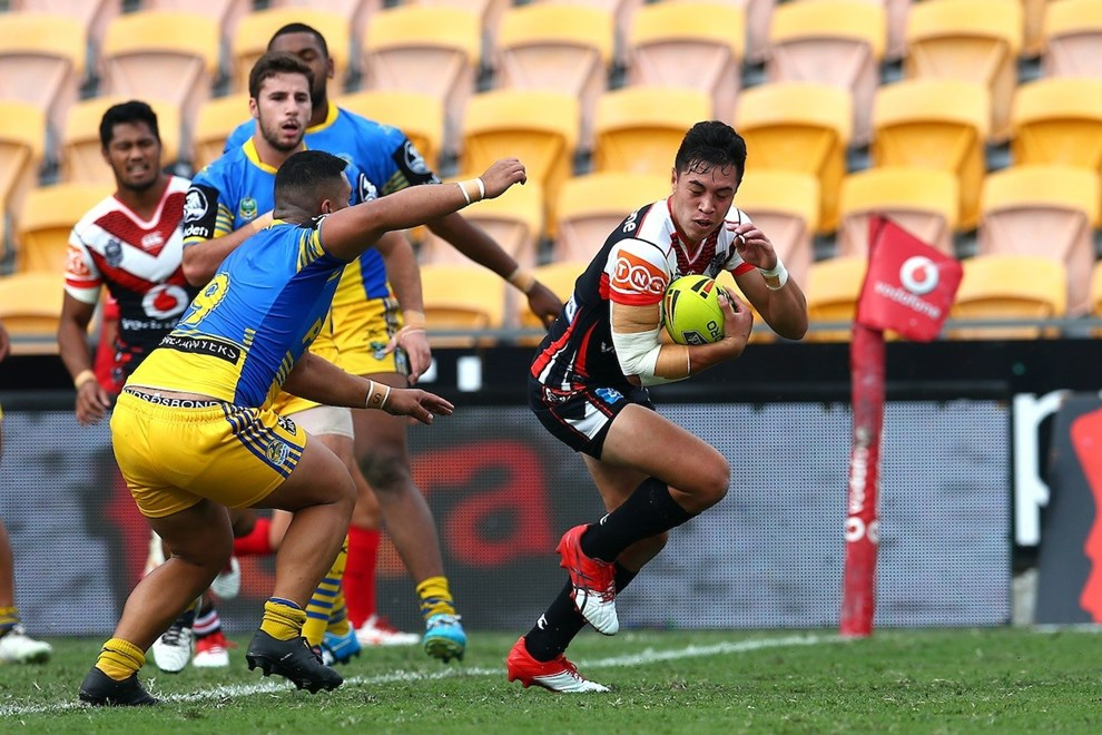 Kane Telea. Junior Warriors v Junior Eels