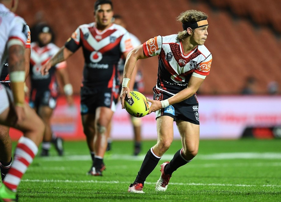 Eiden Ackland.  NRL Holden Cup, NYC Juniors U20s. Vodafone Warriors v  St George Illawarra Dragons. NRL Rugby League. Waikato Stadium, Hamilton, New Zealand. Friday 19 May 2017 © Copyright Photo: Andrew Cornaga / www.Photosport.nz