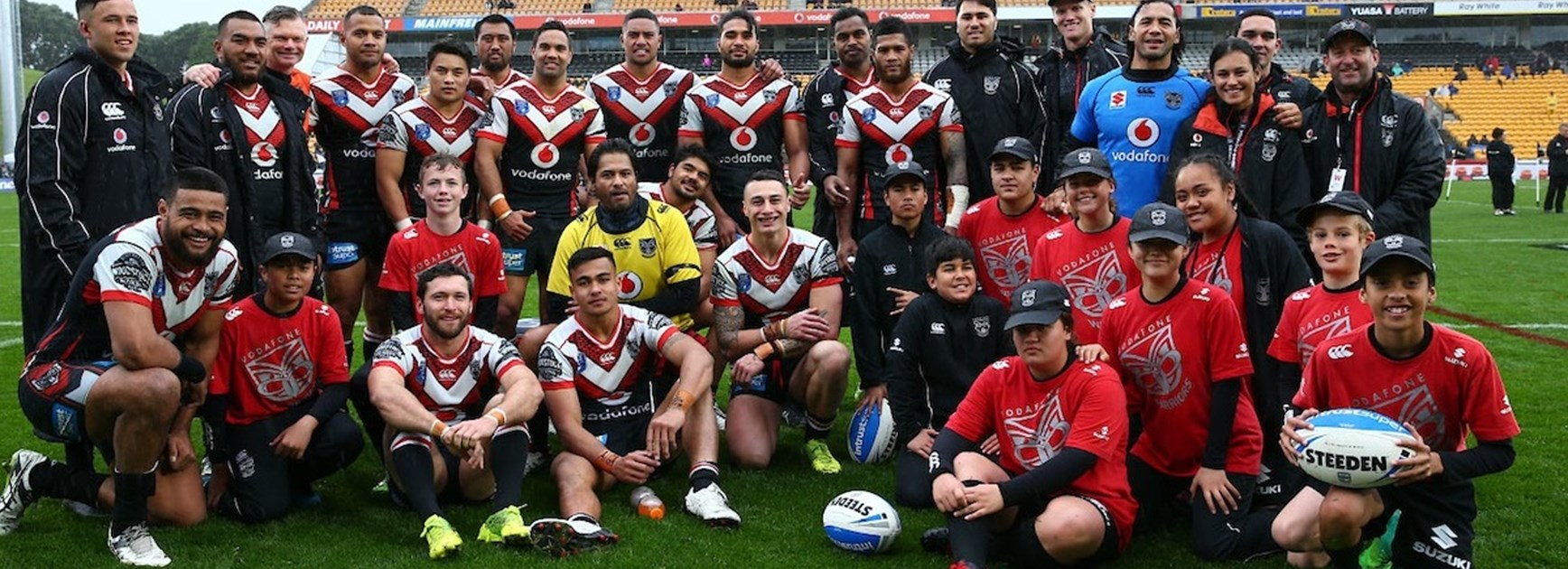 Vodafone Warriors ISP side under new coach in 2018