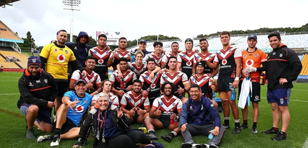 Back-to-back wins for Vodafone Junior Warriors
