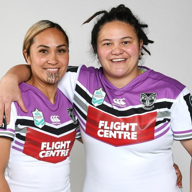 Big Warriors presence in Kiwi Ferns - Warriors be67dbcd6