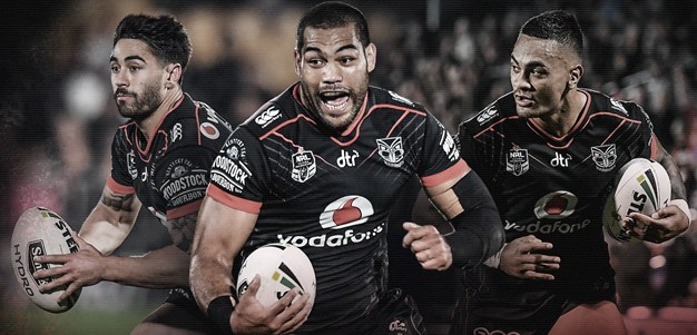 Five Vodafone Warriors named for Kiwis