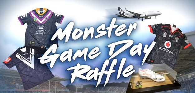See what prizes are in monster raffle