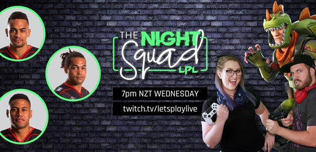 Locked in for 'The Night Squad' tonight