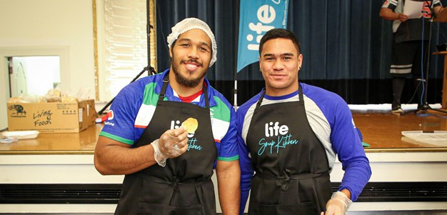 Serving Mangere East whanau with Life Soup Kitchen