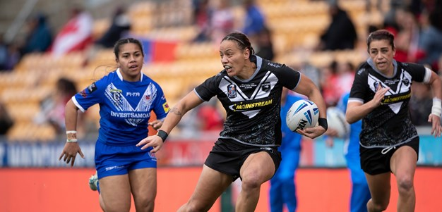 Warriors dominate Kiwi Ferns squad