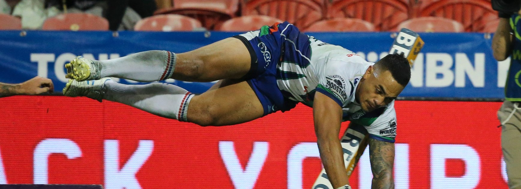 On a wing and some flair: Maumalo flies to top of try-scoring tree